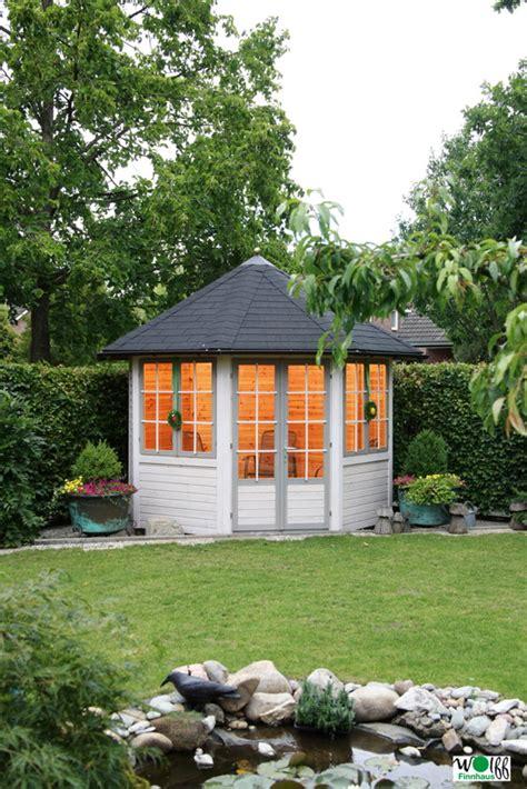 Gartenpavillon Aus Holz Günstig Kaufen by Holz Pavillon 8 Eck Gartenpavillon Mit 2 Doppelfenster U