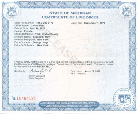 Arkansas Birth Records Location Of Birth Certificate Number State Id Number