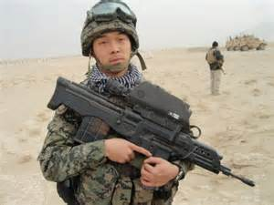 Daewoo K 11 South Korean K11 Dual Caliber Air Burst Assault Rifle