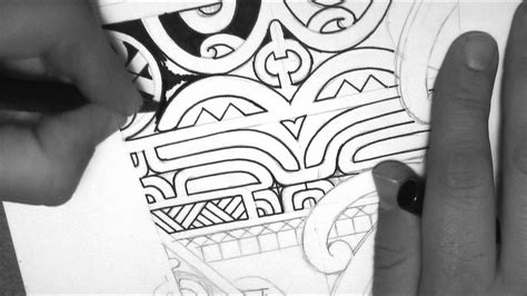 marquesan tattoo designs marquesan design drawing a calf forearm by