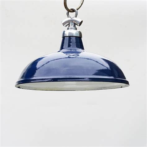 Light Navy by Salvaged Enamel Colonial Light Navy Blue Shade