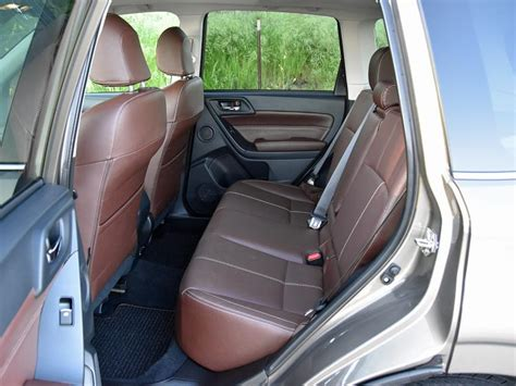 subaru forester seats ratings and review 2017 subaru forester ny daily news