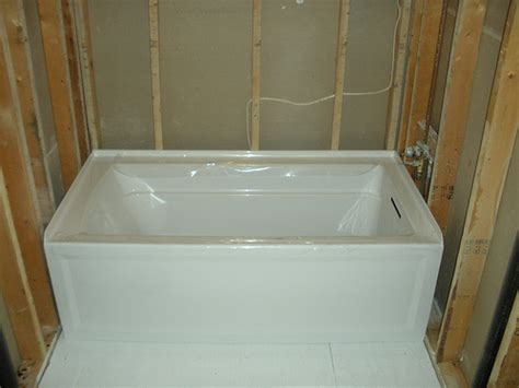 alcove bathtub installation drywall install alcove tub images frompo