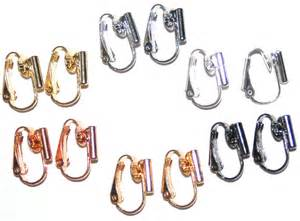 how to convert clip on earrings to pierced image gallery earring converters