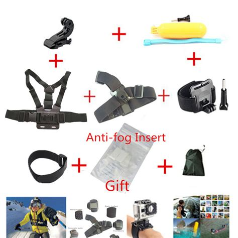 Floating Monopod Gopro Xiaomiyi מוצר gopro accessories set chest monopod floating bobber mount for go pro hero5 3 4