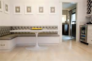 Built In Kitchen Banquette Things We Love Banquettes