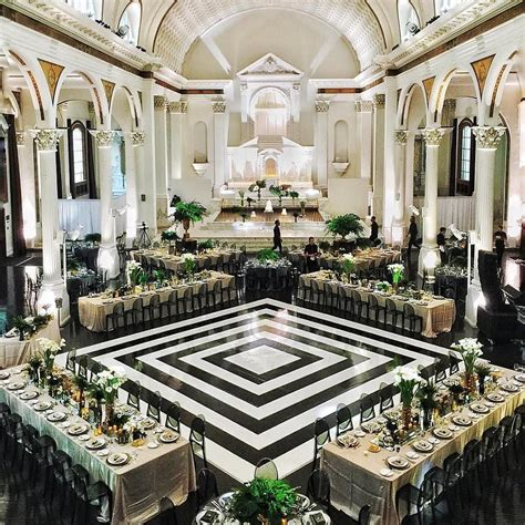 wedding dance layout the design of this repurposed cathedral is extraordinary