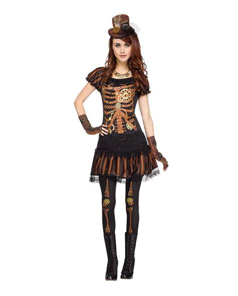 Gamis Bloomy Dress Original Naura steunk skeleton frauenkost 252 m skelett kost 252 m im