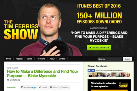 Tim Ferriss Email Detox by 7 Entrepreneur Blogs With Amazing Site Designs And Why