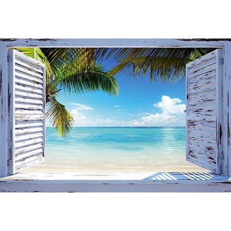 beach view poster beach window posters buy