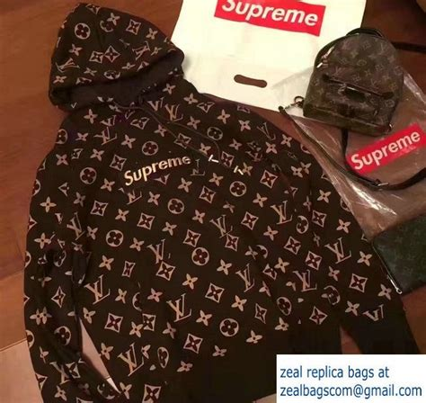 Supreme X Lv Sweater louis vuitton monogram supreme print sweater 2017 luxury