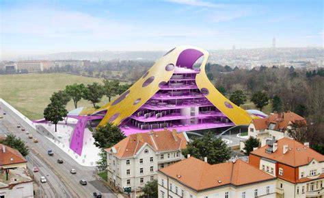 Stuttgart Library by Czech National Library Prague Building Future Systems