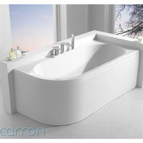 d walls in bathroom status luxury designer carron 1600 acrylic bath shaped