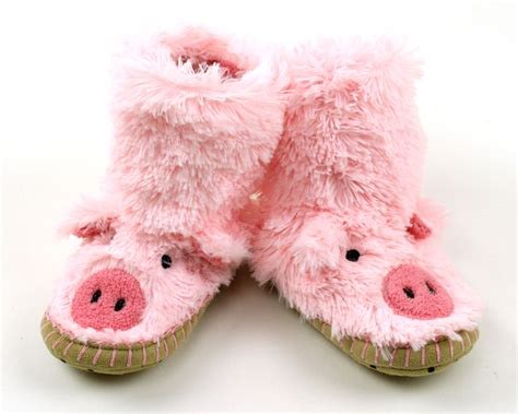 pig house shoes kids pig slouch slippers pig slippers