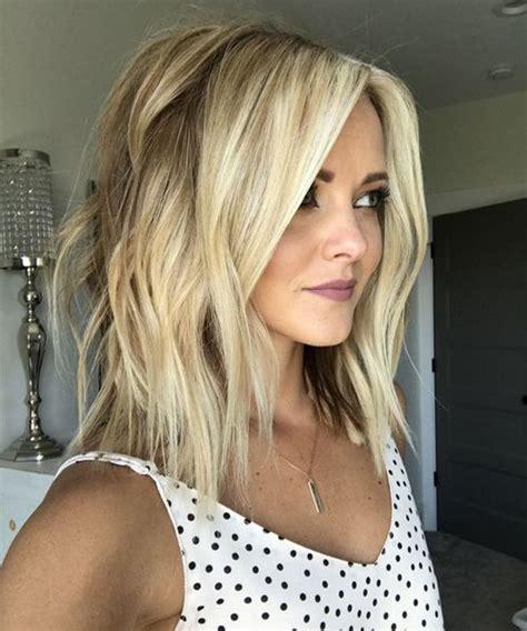 womens lob haircut 10 stylish sweet lob haircut ideas 2018 shoulder length