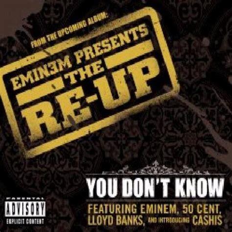 Eminem You Don T Know Lyrics | you don t know by eminem album cover