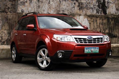 subaru forester 2012 reviews review 2012 subaru forester xt philippine car news car