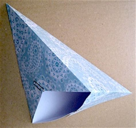 pattern for triangle box gift box patterns