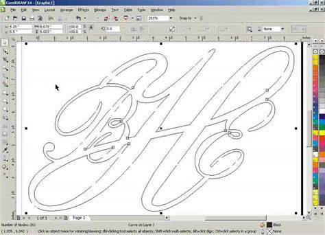 tutorial corel draw vector corel draw clean up lines after welding corel draw