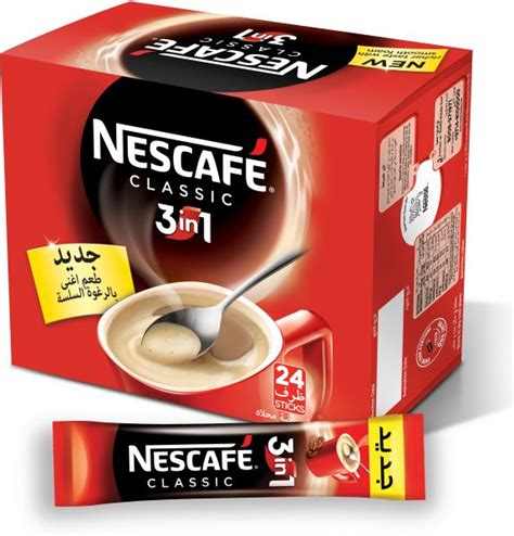 3in1 Bag nescafe 3 in 1 instant coffee mix sachet box of 24 24 x 20g price review and buy in dubai