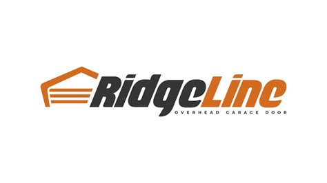 logo design description ridgeline garage door logo design essellegi designer