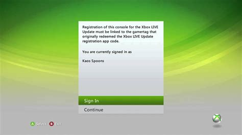360 sign up xbox 360 beta dashboard update sign up