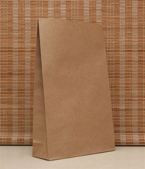 Paper Bag 10x8x17 5 Cm ᑐ50pcs lot leather color kraft paper paper bag 23x12x7