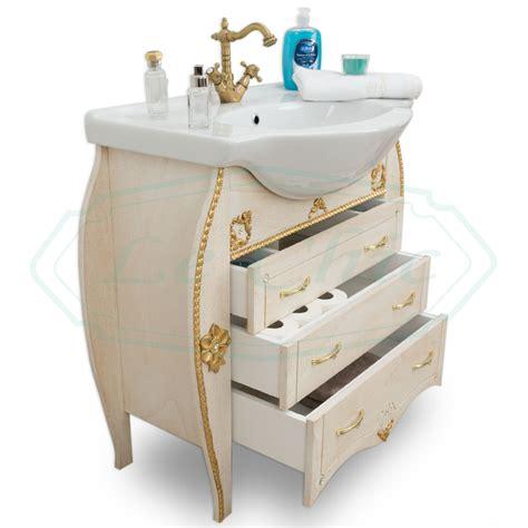 arredo bagno barocco arredo bagno in stile barocco con fianchi bombati avorio e