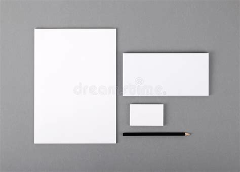 free flat card templates blank basic stationery letterhead flat business card