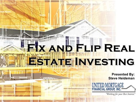 real estate investing flipping houses fix and flip real estate investing
