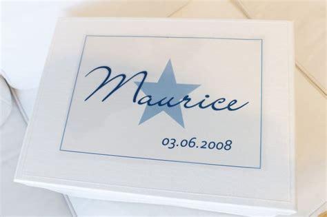 erinnerungskiste baby erinnerungskiste baby box namen jungen blau