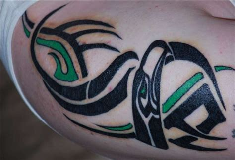 seahawks tattoo http wwwtattoodonkeycom seahawks tattoos amazing