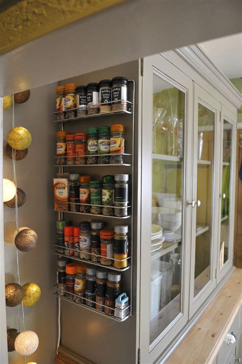 large aluminium wall mounted corner spice rack beside kitchen cabinet idea of magnificent large