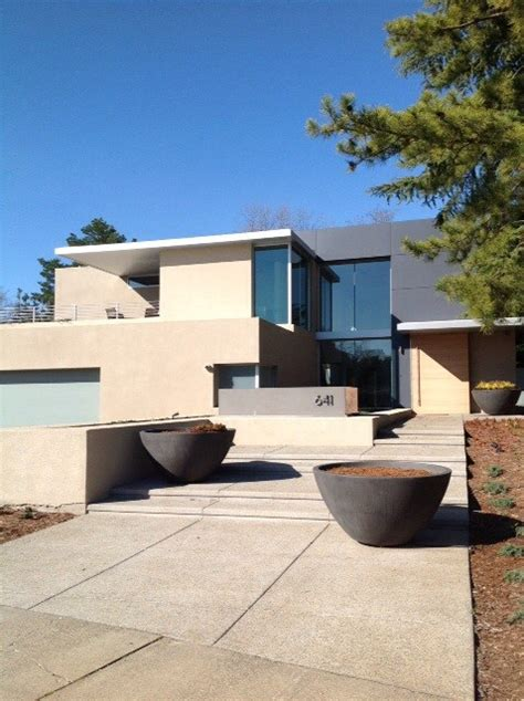 modern and sophisticated home exterior design of cole sophisticated restraint modern house and landscape design
