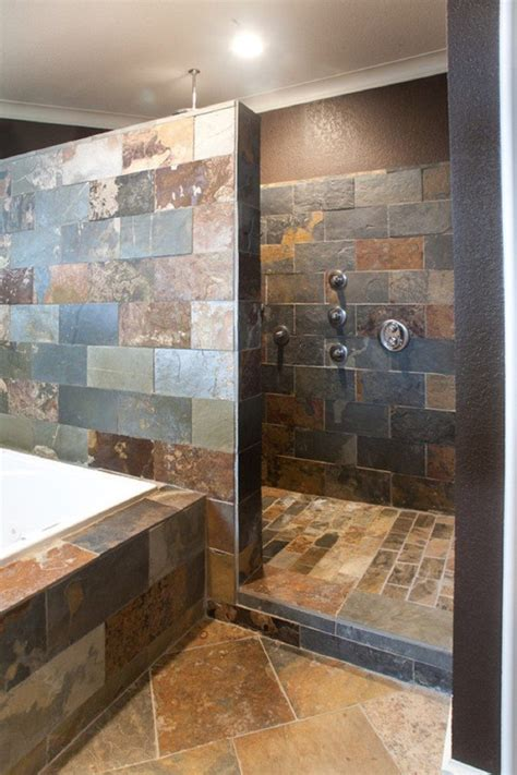 Walk In Shower Bathroom Designs Tile Designs In Walk In Showers Studio Design Gallery Best Design
