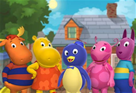Backyardigans What Of Animals Are They The Backyardigans As Respect Drill Sergeants