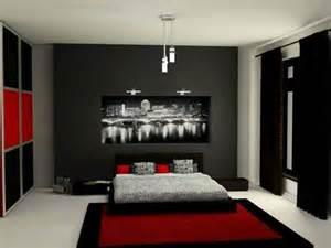 agréable Chambre Grise Et Noire #1: deco-chambre-grise-chambre-noire-et-blanche.jpg