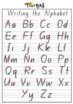handwriting formation nsw foundation font by kristy harris