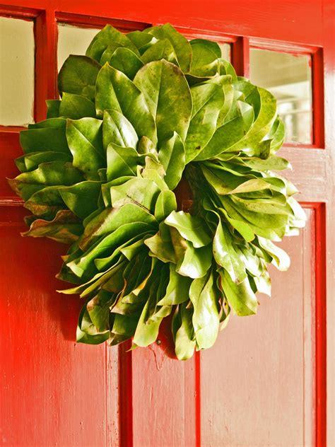 10 diy christmas wreaths hgtv how to make a fresh magnolia wreath hgtv