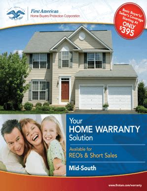 american home warranty sle contract home review