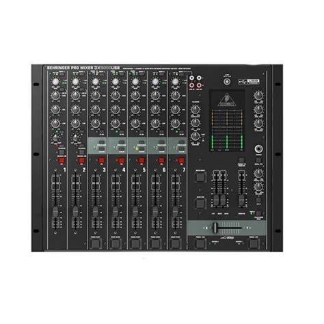 Sound Card Usb Behringer behringer vmx100usb 2 channel dj mixer with usb sound card