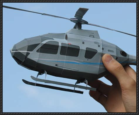 Papercraft Helicopter - eurocopter ec135 papercraftsquare free papercraft