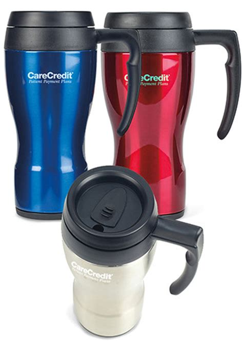 personalized thermocafe thermos 16 oz stainless steel