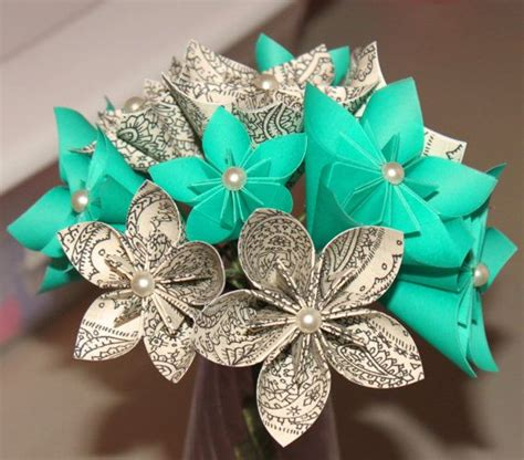 Origami Bridal Bouquet - best 25 origami bouquet ideas only on origami