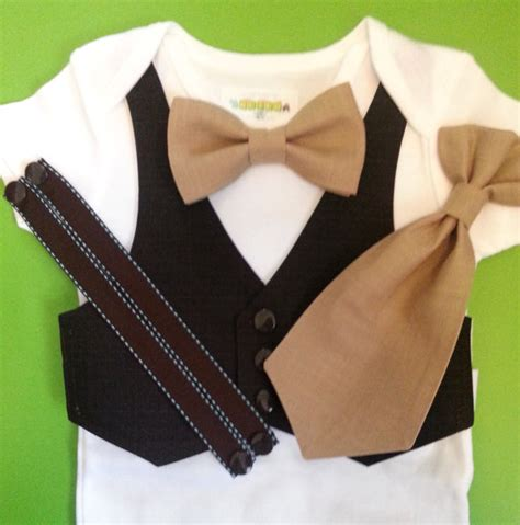 items similar to baby boy clothes vest bow tie baby