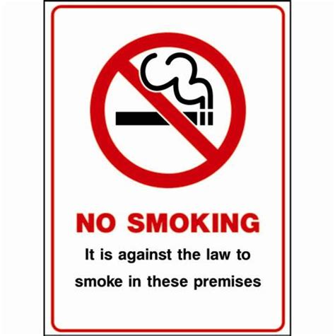 no smoking signs the law no smoking signs no smoking it is against the law to