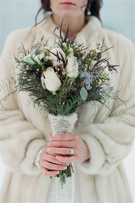 Wedding Bouquet Winter by Winter Bridal Bouquets