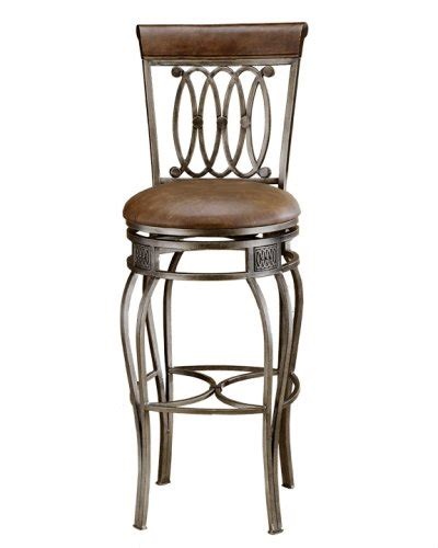 32 Inch Swivel Bar Stools | hillsdale montello 32 inch swivel bar stool old steel