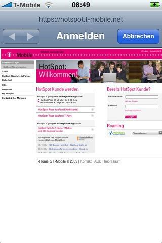 Mac Os X Autologin by Fscklog T Mobile Hotspots Unterst 252 Tzen Jetzt Autologin In
