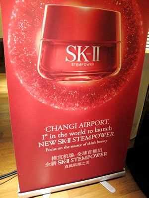 Sk Ii Di Changi Airport sk ii unveils revolutionary new stempower product at